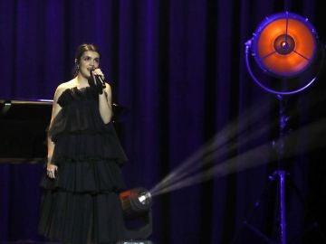 La cantante Amaia Romero durante la gala de entrega de los Premios Goya 2019