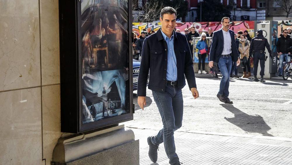 El presidente del Gobierno y secretario general de los socialistas, Pedro Sánchez