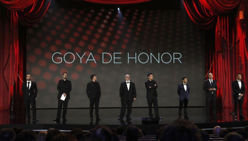Entrega del Goya de Honor a Chicho Ibáñez Serrador en los Premios Goya 2019