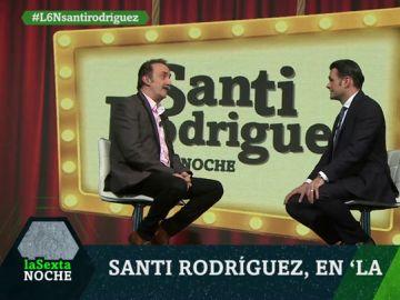 Santi Rodríguez, en laSexta Noche