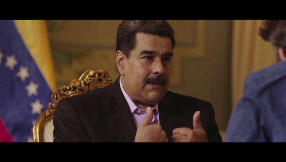 Nicolás Maduro habla con Jordi Évole