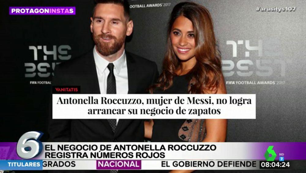 La 'crisis' económica de Leo Messi y Luis Suárez: así es el negocio de sus parejas que sufre pérdidas de miles de euros