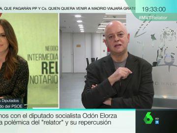 Odón Elorza en una entrevista