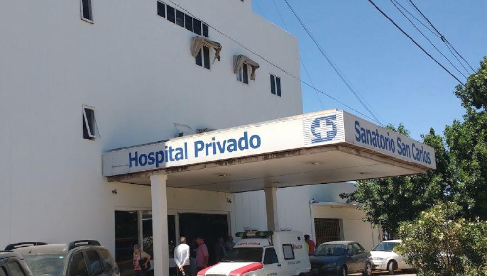 Hospital donde el hombre mató a su mujer