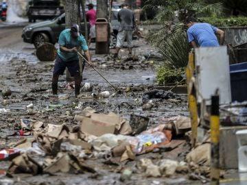 Las lluvias torrenciales dejan al menos seis muertos en Río de Janeiro