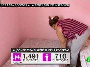 El umbral de la pobreza en España