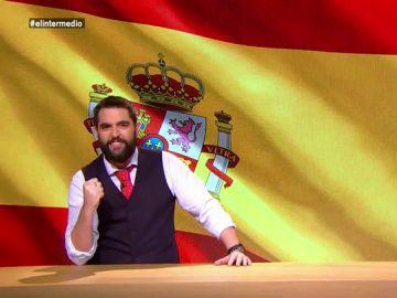 """La defensa de Dani Mateo de la bandera de España: """"Los progres, modernitos y perroflautas han querido romper nuestra patria"""""""