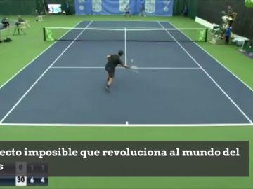 Lo nunca visto: el efecto imposible de Novikov que revoluciona al mundo del tenis