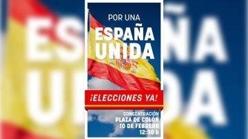 """Manifestación """"Por una España unida"""""""