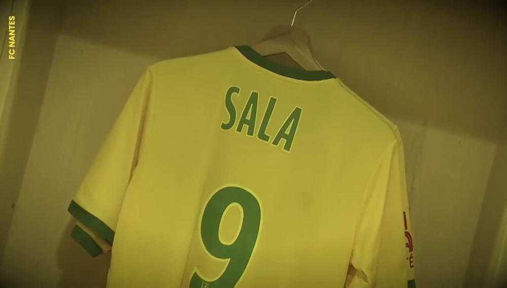 El emotivo vídeo del Nantes en homenaje a Emiliano Sala en redes sociales