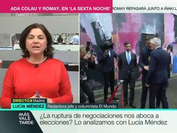 Lucía Mendez en Más Vale Tarde