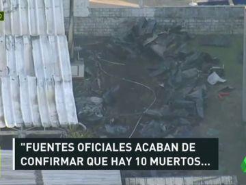 Diez muertos en un incendio en la ciudad deportiva del Flamengo