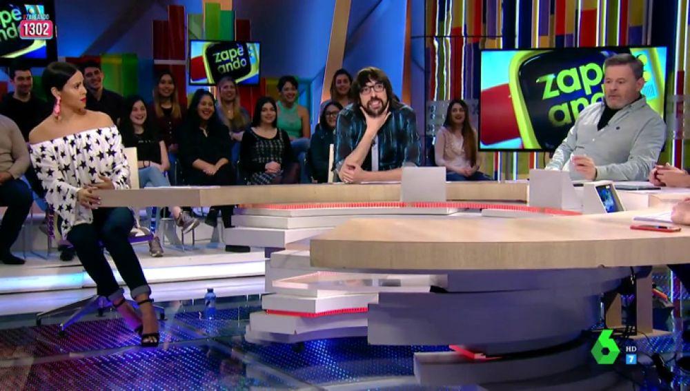 Cristina Pedroche, Quique Peinado y Frank Blanco