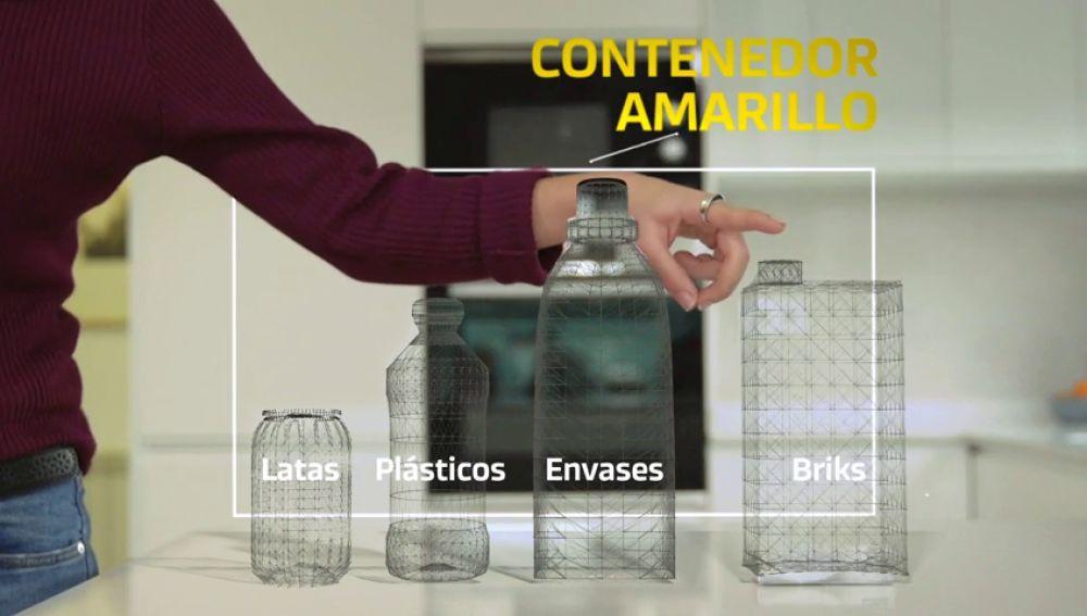 Desde el contenedor de la basura hasta ser amontonados en 'balas': seguimos el camino que recorren los residuos hasta su reciclaje
