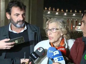 Manuela Carmena y Ada Colau se reúnen en Roma con alcaldes de Italia para tratar la crisis migratoria