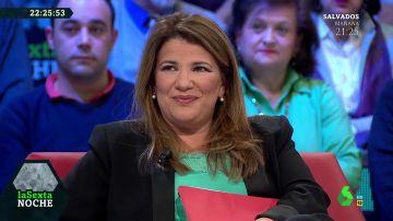 """Habla María Claver tras conocerse que leerá el manifiesto en la marcha contra Pedro Sánchez: """"Es un honor prestarles mi voz"""""""