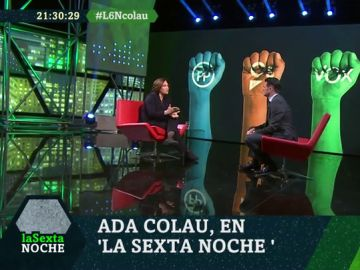 """Ada Colau: """"La extrema derecha no se limita a Vox en nuestro país"""""""