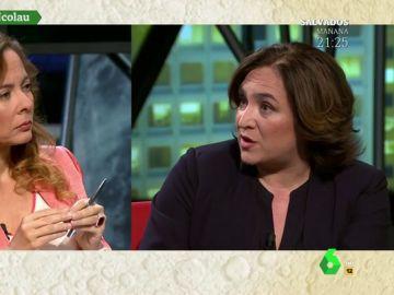 """Ada Colau: """"Aznar dialogó con ETA, ¿ahora no se puede dialogar con independentistas que no han matado a nadie?"""""""