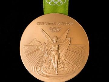 La medalla olímpica de los Juegos de Río 2016