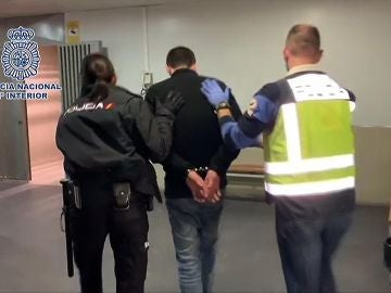 Imagen del detenido por matar a su pareja en Alcalá de Henares