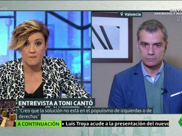 """Toni Cantó: """"Sánchez está dispuesto a hacer lo que le dicte el supremacista de Torra para quedarse en la Moncloa"""""""