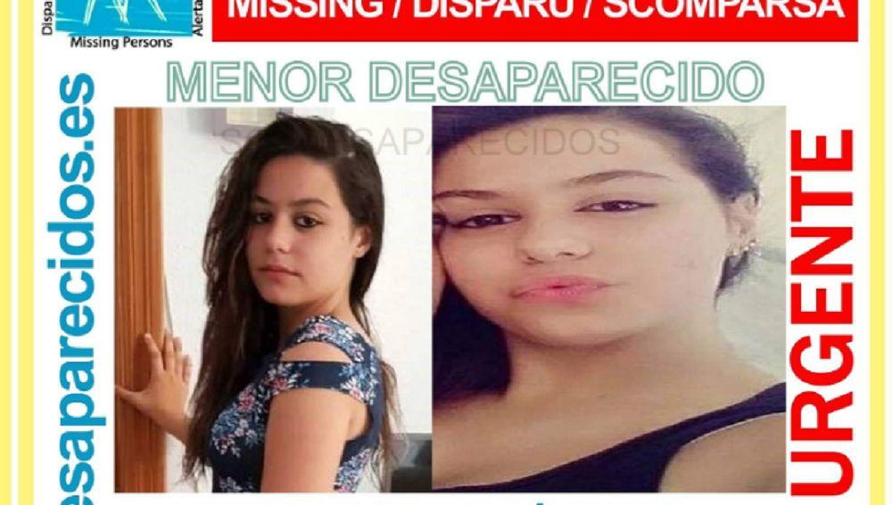 Imagen de una joven desaparecida en Palma de Mallorca