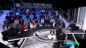 Los seis grandes partidos de España valoran en El Objetivo la manifestación contra Pedro Sánchez en Colón