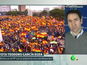 Teodoro García Egea, en Liarla Pardo