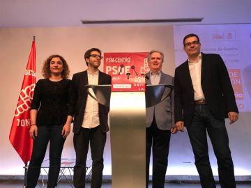 Chema Dávila presenta su candidatura al Ayuntamiento de Madrid por el PSOE