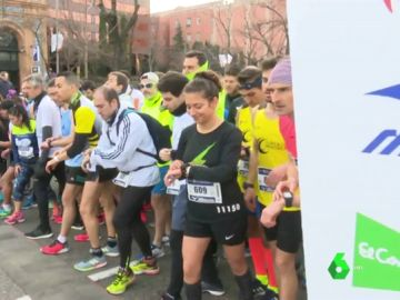 Carrera solidaria en Madrid por los huérfanos de la violencia machista