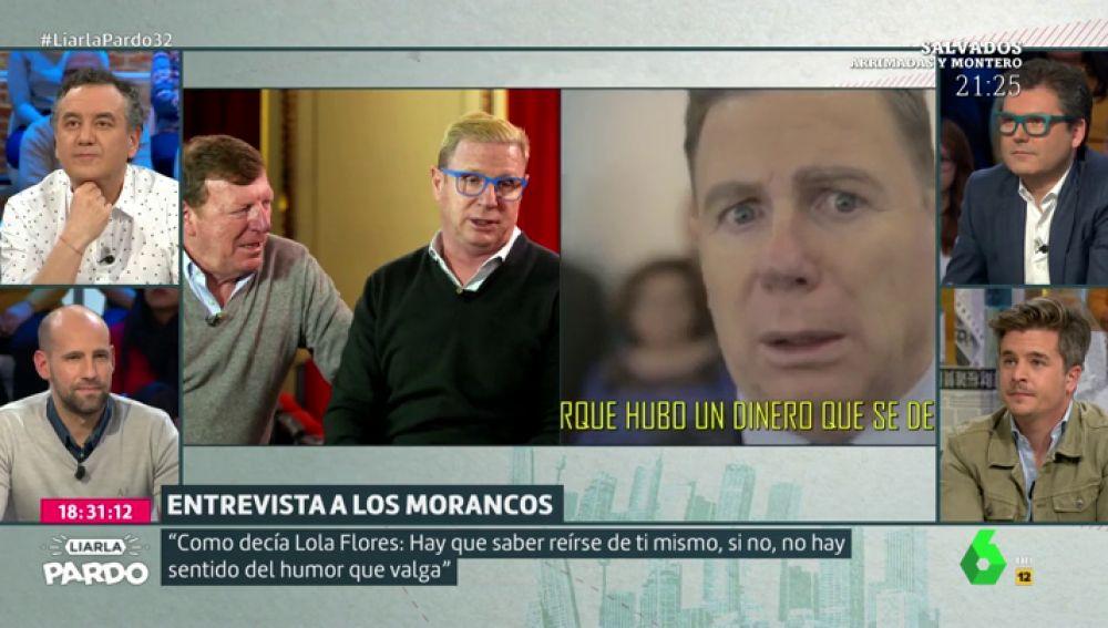 Entrevista a los Morancos en Liarla Pardo