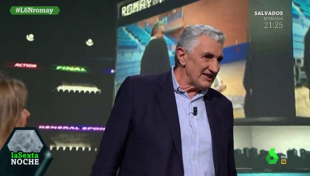 """El alegato feminista de Fernando Romay: """"Visibilizar el deporte femenino es muy importante"""""""