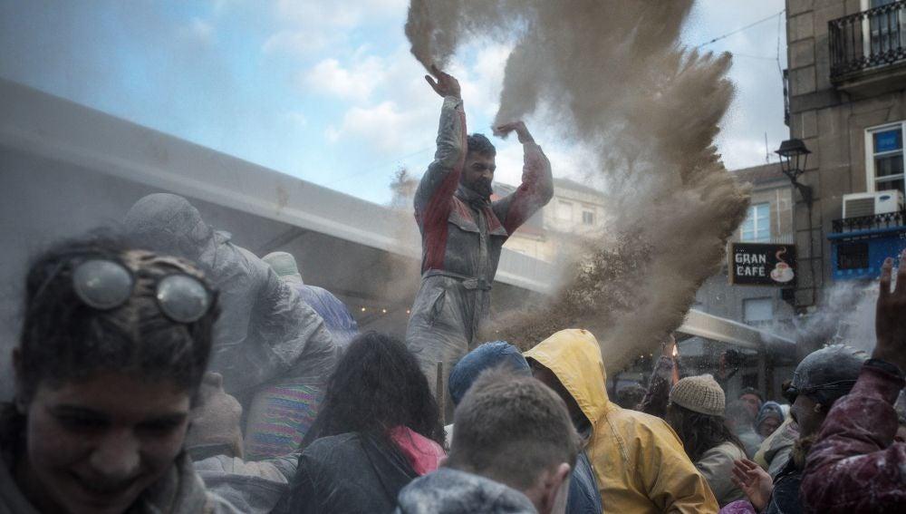 Fiesta de la harina en Xinzo de Limia, Orense
