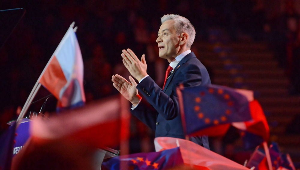 Robert Biedron, líder del partido polaco 'Primavera'