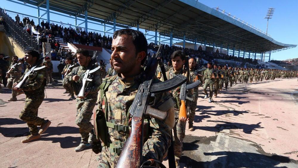 Imagen de archivo de las Fuerzas Democráticas Sirias