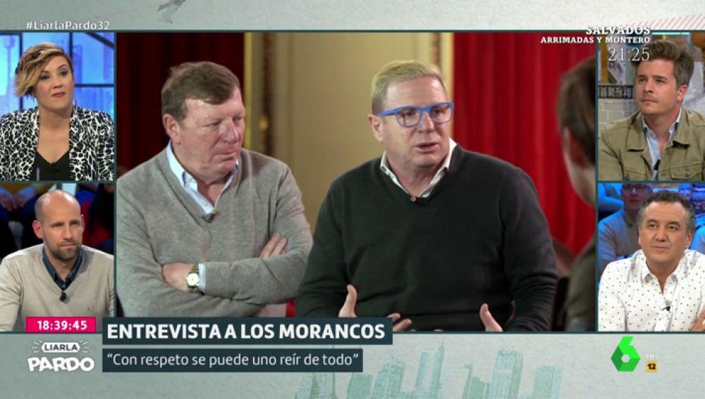 """Los Morancos recuerdan una anécdota sobre la muerte de su padre porque """"se puede hacer humor de todo"""": """"Él decía que no estuviéramos de luto"""""""