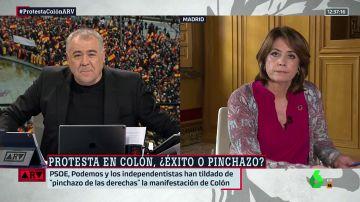 """La ministra Delgado responde al manifiesto de PP, Cs y Vox: """"No vamos a hablar de autodeterminación porque estamos dentro de los márgenes constitucionales"""""""
