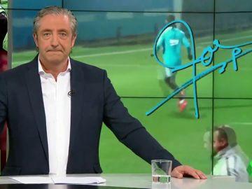 """Josep Pedrerol: """"No vale esconderse detrás de Messi, que después no aparece ante la Roma en Champions… y a la calle"""""""