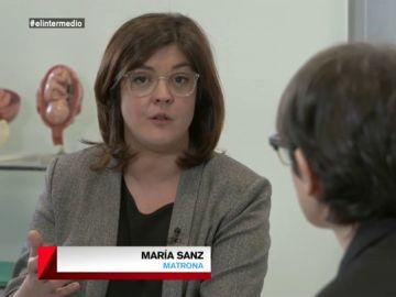"""María Sanz analiza la situación de la maternidad en España: """"Cada vez somos madres más mayores porque no tenemos condiciones laborales ni sociales"""""""