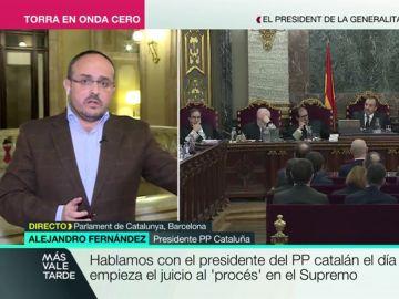 """Alejandro Fernández sobre la imposibilidad del diálogo con Cataluña: """"El golpe continúa vivo mientras que se acepten ordenes de un gobierno en Waterloo"""""""