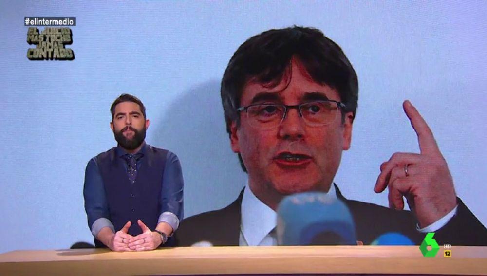 """Dani Mateo desvela qué hacía Puigdemont en la Berlinale: """"Ha cambiado el independentismo por el cine independiente"""""""