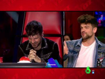Ricky Merino descubre la estrategia de Orozco y Pablo López para ganar 'La Voz'