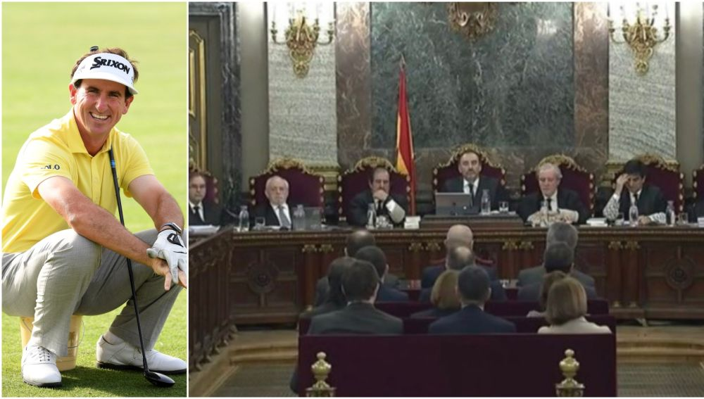 Gonzalo Fernández-Castaño y los acusados en el juicio del 'procés'