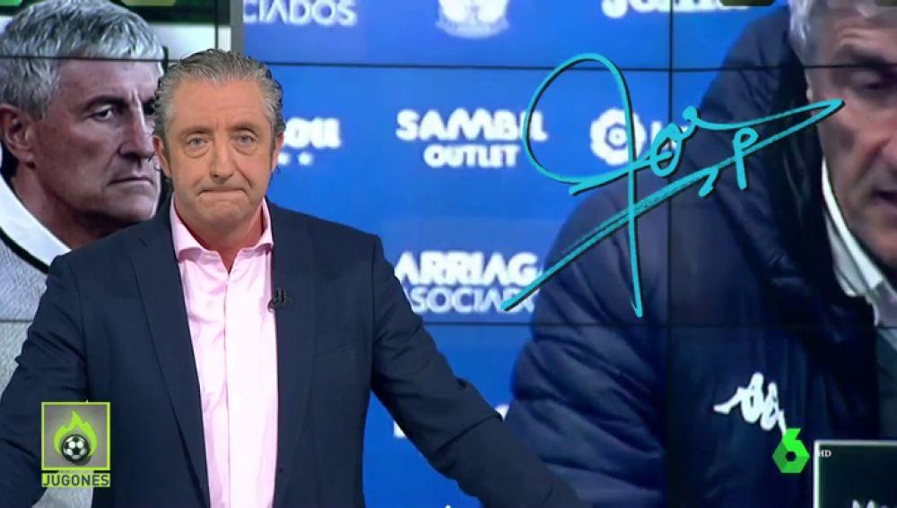 """Josep Pedrerol: """"El Leganés, el equipo al que Setién critica, está a sólo tres puntos del Betis. Cuidadín"""""""