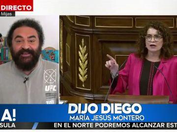 El Sevilla y María Jesús Montero