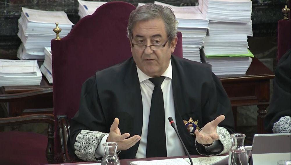 El fiscal Javier Zaragoza, en el juicio del 'procés'