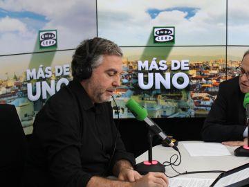 Carlos Alsina entrevista a Quim Torra en Más de uno
