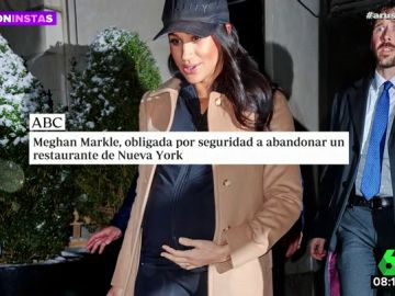 Meghan Markle, obligada a abandonar un restaurante de Nueva York por seguridad