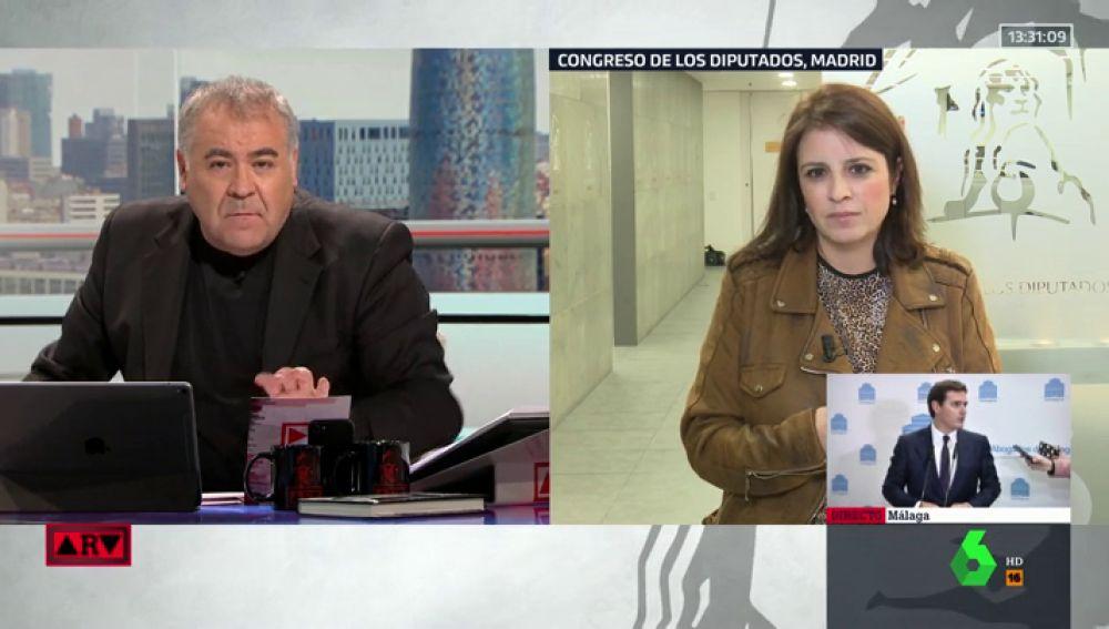 Antonio García Ferreras y Adriana Lastra