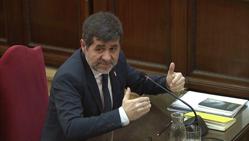 El expresidente de la ANC Jordi Sànchez